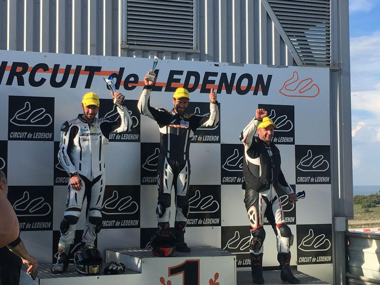 Victoire à la course de vitesse de Ledenon 2017